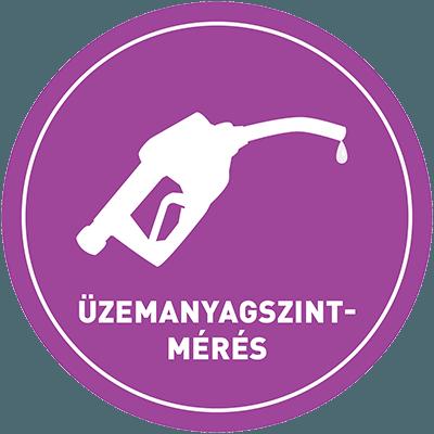 Üzemanyagszint-mérés